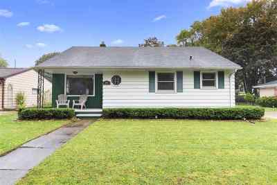 Appleton WI Single Family Home Active-No Offer: $140,000