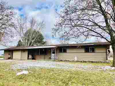 Oconto Falls WI Single Family Home Active-No Offer: $94,900