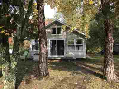 Waupaca Single Family Home Active-No Offer: N2845 East Taylor Lake