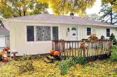 Neenah Single Family Home Active-Offer No Bump: 266 Crestview