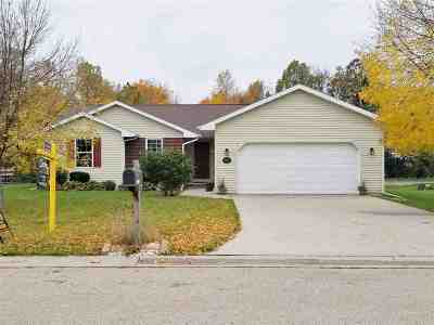 Menasha Single Family Home Active-No Offer: W6335 Lilac