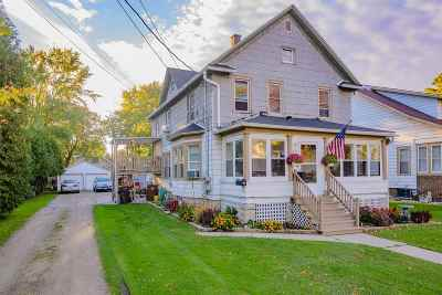 Menasha Multi Family Home Active-No Offer: 375 Naymut