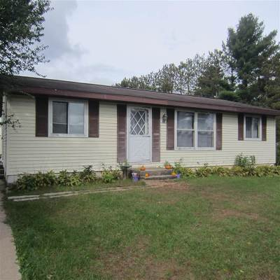 Waupaca Single Family Home Active-No Offer: N683 Hwy K