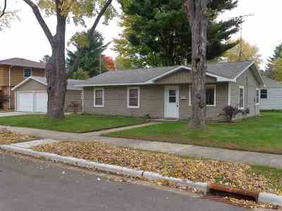 Shawano Single Family Home Active-Offer No Bump: 1044 S Cleveland
