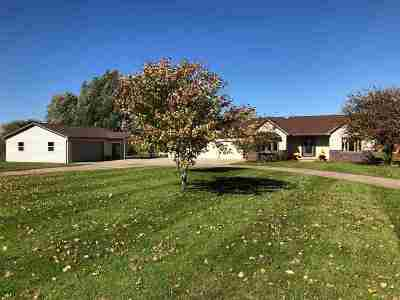 Appleton Single Family Home Active-Offer No Bump: W6954 Spencer