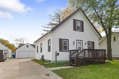 Menasha Single Family Home Active-No Offer: 321 Grandview