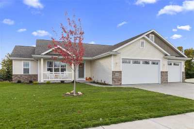 Menasha Single Family Home Active-No Offer: W6307 Kimberly