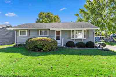 Neenah Single Family Home Active-No Offer: 980 W Cecil