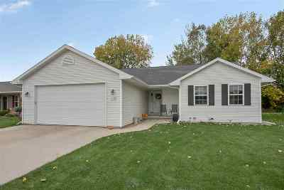 Menasha Single Family Home Active-No Offer: 1038 Province