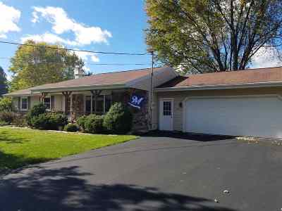 Neenah Single Family Home Active-Offer No Bump: 2984 Braun