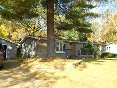 Shawano Single Family Home Active-No Offer: N6735 Hwy Hh