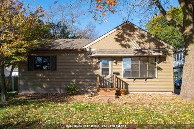 Oshkosh Single Family Home Active-No Offer: 1109 Grand