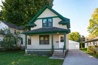 Oshkosh Single Family Home Active-No Offer: 1017 W New York