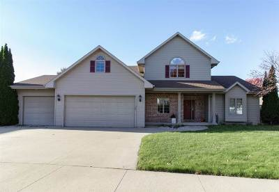 Appleton Single Family Home Active-No Offer: 4509 Marshall Heights