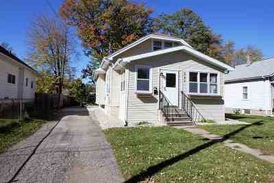 Menasha Single Family Home Active-No Offer: 387 Elm