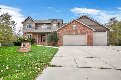 Green Bay Single Family Home Active-No Offer: 2707 Sage