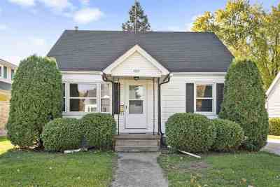 Oshkosh Single Family Home Active-Offer No Bump: 1807 Hollister