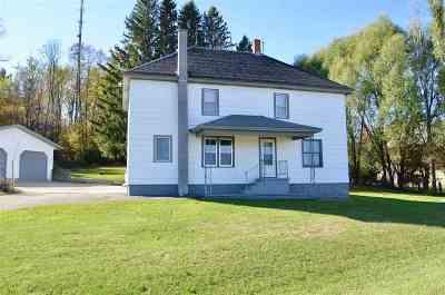 Shawano Single Family Home Active-Offer No Bump: N5207 Hwy U