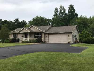 Marinette Single Family Home Active-Offer No Bump: W1611 Hwy B