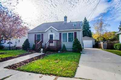 Green Bay Single Family Home Active-Offer No Bump: 1710 Smith