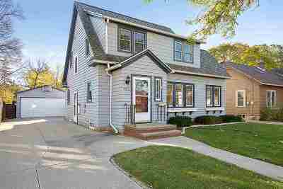 Appleton Single Family Home Active-Offer No Bump: 1512 N Drew