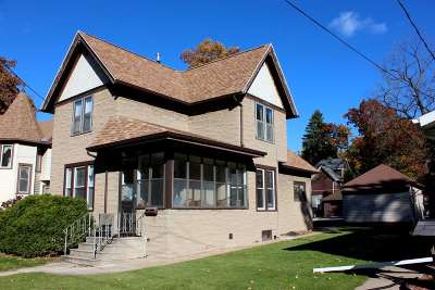 Single Family Home Active-No Offer: 814 Metoxen