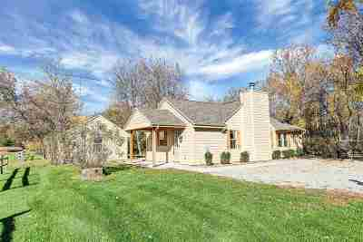 Single Family Home Active-No Offer: N7339 Hideaway