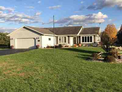 Shawano Single Family Home Active-No Offer: W7271 Belle Plaine
