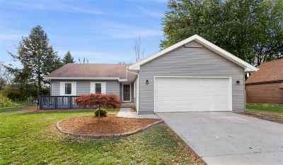 Appleton Single Family Home Active-Offer No Bump-Show: 3041 E Canary