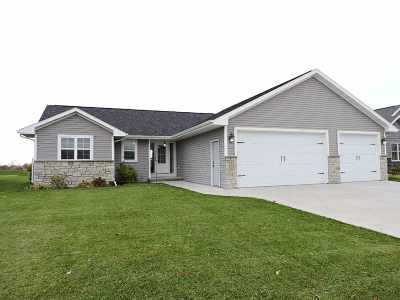 Menasha Single Family Home Active-No Offer: N8973 Spring Valley