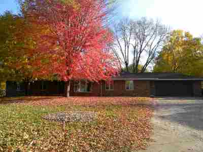 Oshkosh Single Family Home Active-Offer No Bump: 956 Starboard