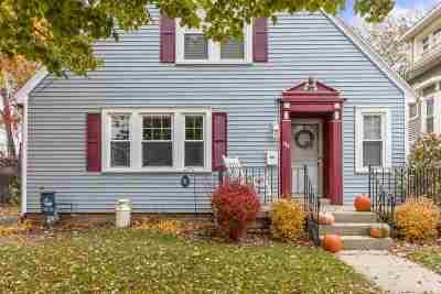 Menasha Single Family Home Active-Offer No Bump: 344 Broad