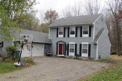 Waupaca Single Family Home Active-No Offer: 615 North