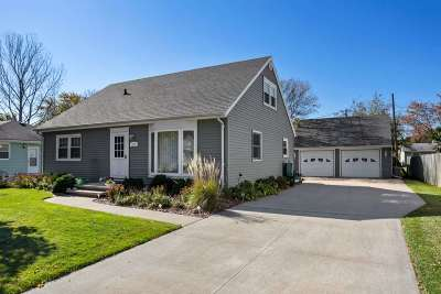 Neenah Single Family Home Active-No Offer: 1513 Collins