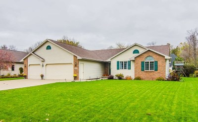 Appleton Single Family Home Active-Offer No Bump: N9164 Christopher