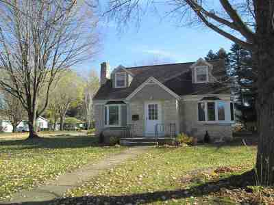 Shawano Single Family Home Active-No Offer: 1030 S Park