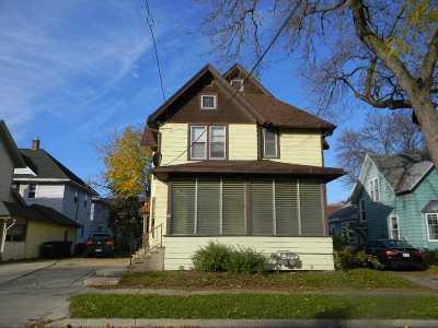 Oshkosh Multi Family Home Active-No Offer: 709 Frederick