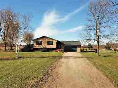 Winneconne Single Family Home Active-Offer No Bump: 6115 Lake Poygan
