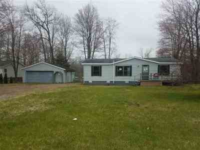 Peshtigo Single Family Home Active-No Offer: W3149 Hwy 64