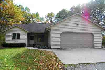Oconto Single Family Home Active-No Offer: 3081 Nuthatch