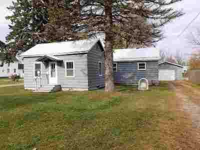 Oconto Single Family Home Active-Offer No Bump: 226 Gale