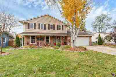 Green Bay Single Family Home Active-Offer No Bump: 528 Hilltop