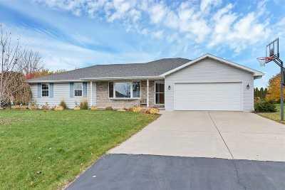 Green Bay Single Family Home Active-Offer No Bump: 3757 Sandpiper