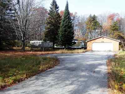 Peshtigo Single Family Home Active-No Offer: W1712 Hwy B