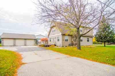 Neenah Single Family Home Active-Offer No Bump: 1099 Jacobsen
