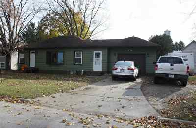 Oconto Falls WI Single Family Home Active-No Offer: $95,900