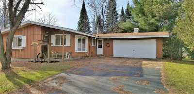 Shawano Single Family Home Active-Offer No Bump: W10011 County Rd A