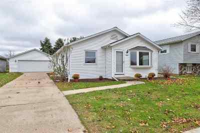 Oshkosh Single Family Home Active-No Offer: 2233 Allerton