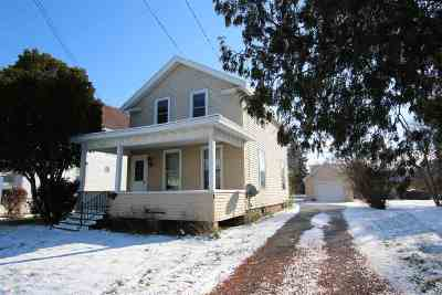Oshkosh Single Family Home Active-No Offer: 417 W 10th