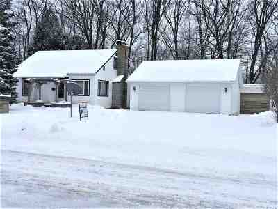 Oconto Falls WI Single Family Home Active-No Offer: $99,900